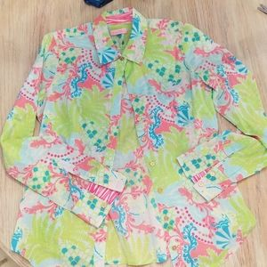 Women's size small Lilly Pulitzer blouse